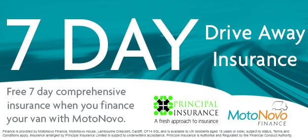 7 Day Free Insurance - Used Vans Lincolnshire